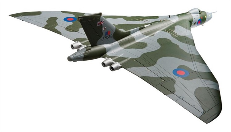 Corgi's 1:72 Scale Avro Vulcan Bomber Lands at Last!