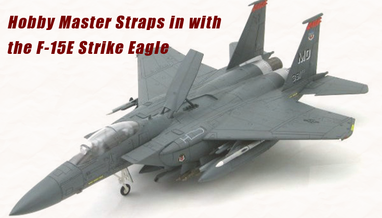 The incredibly designed F-15E Strike Eagle