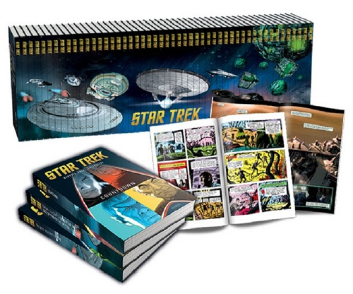 eaglemoss collections star trek books and graphic novels